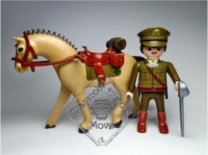 Oficial Cazadores Alcantara 1921