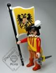 Abanderado Guardia Española